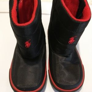 Polo kids boots size 10